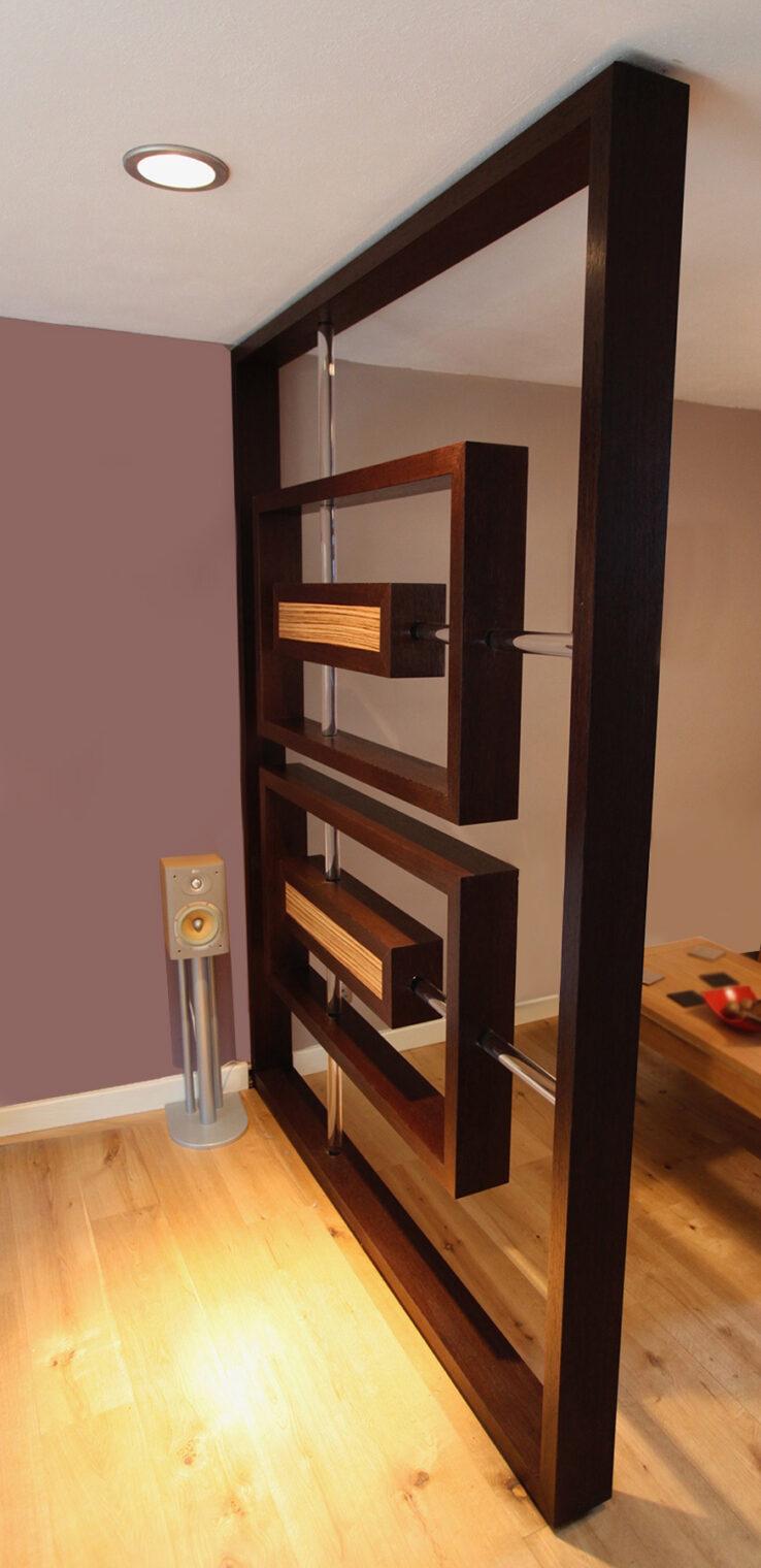 Alvaro Rodriguez Cabinet Maker – Room Divider project case study